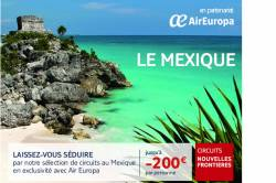 NOUVELLES FRONTIERES : Dernieres places au Mexique
